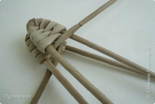 Мастер-класс Поделка изделие Плетение Ящерка Трубочки бумажные фото 4