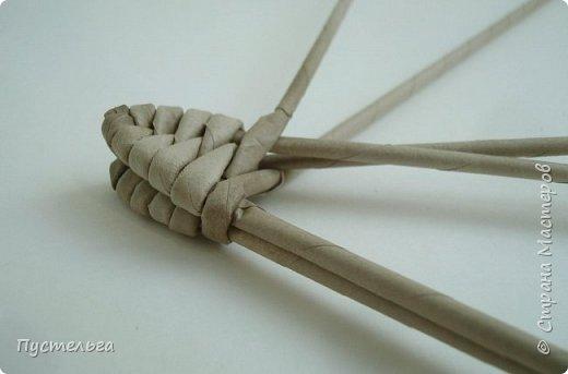 Мастер-класс Поделка изделие Плетение Ящерка Трубочки бумажные фото 5