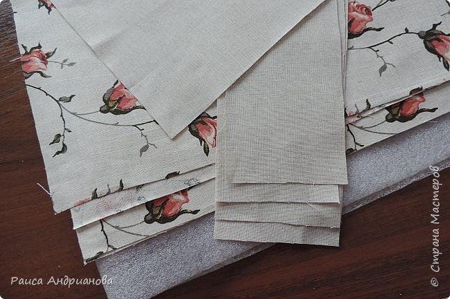 легкая летняя сумочка из льняной ткани фото 2