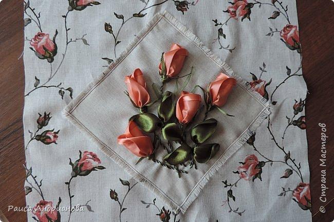 легкая летняя сумочка из льняной ткани фото 4