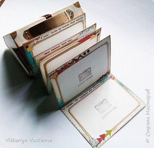 Портфель открытка скрапбукинг