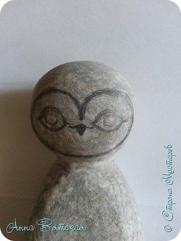 Куклы Мастер-класс Папье-маше Совушка на облаке  Бумага Клей Краска фото 11