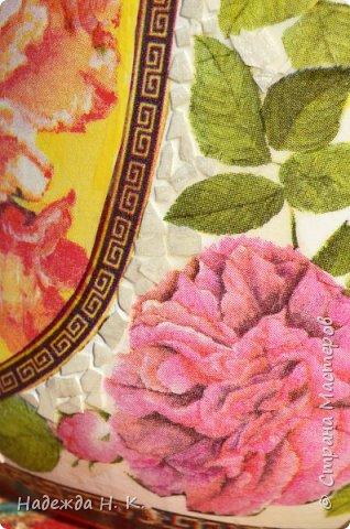 Декор предметов Мастер-класс Декупаж Кракелюр Китайская ваза из трехлитровой банки Банки стеклянные Краска Салфетки Скорлупа яичная фото 20