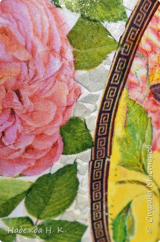 Декор предметов Мастер-класс Декупаж Кракелюр Китайская ваза из трехлитровой банки Банки стеклянные Краска Салфетки Скорлупа яичная фото 19