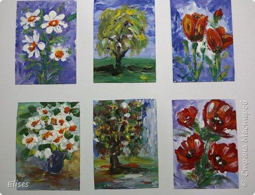 """Это мои творилки в совместнике на тему """"палькичовая"""" живопись, который открыла  Oksana Gordey. Перепачкалась вся. А вы попробуйте угадать, что получилась на что похоже. фото 1"""