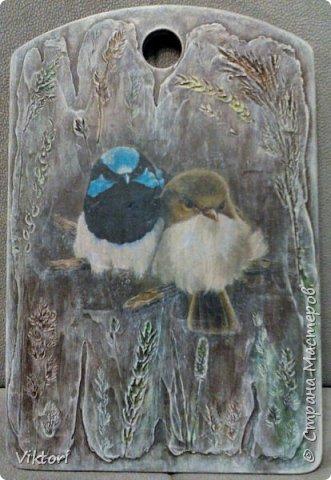 Декор предметов Мастер-класс Ассамбляж Декупаж Декупаж и подрисовки или как я это делаю Дерево Краска Материал природный Салфетки Трава фото 1