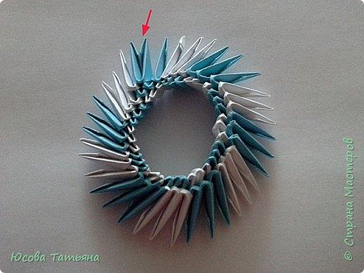 Так как я не нашла такую сборку по спирали, постараюсь описать более подробно на простой поделке. фото 16
