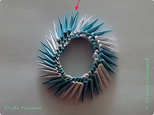 Так как я не нашла такую сборку по спирали, постараюсь описать более подробно на простой поделке. фото 18