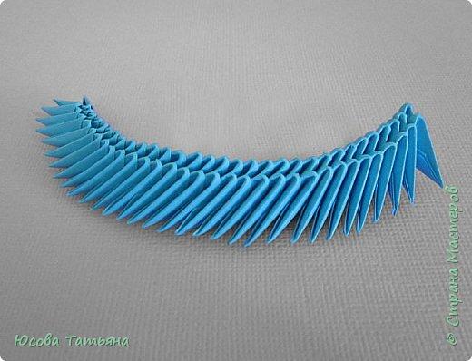 """Основу сервиза собирала по спирали (подробный способ сборки """"спираль"""" я описала в этом МК http://stranamasterov.ru/node/938113, а крышки, блюдце, ручки и ложку - в обычной технике модульного оригами. фото 51"""
