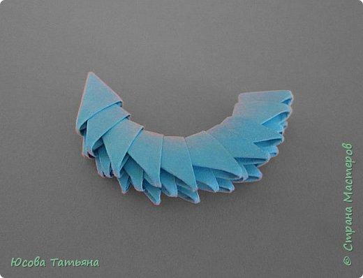 """Основу сервиза собирала по спирали (подробный способ сборки """"спираль"""" я описала в этом МК http://stranamasterov.ru/node/938113, а крышки, блюдце, ручки и ложку - в обычной технике модульного оригами. фото 64"""