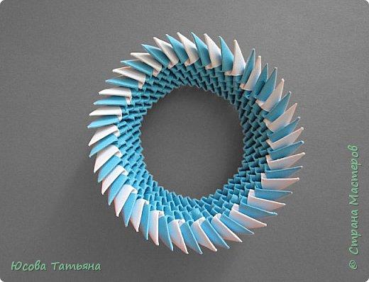 """Основу сервиза собирала по спирали (подробный способ сборки """"спираль"""" я описала в этом МК http://stranamasterov.ru/node/938113, а крышки, блюдце, ручки и ложку - в обычной технике модульного оригами. фото 35"""