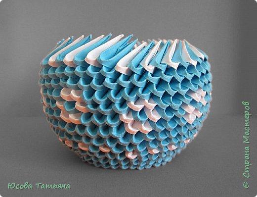"""Основу сервиза собирала по спирали (подробный способ сборки """"спираль"""" я описала в этом МК http://stranamasterov.ru/node/938113, а крышки, блюдце, ручки и ложку - в обычной технике модульного оригами. фото 43"""