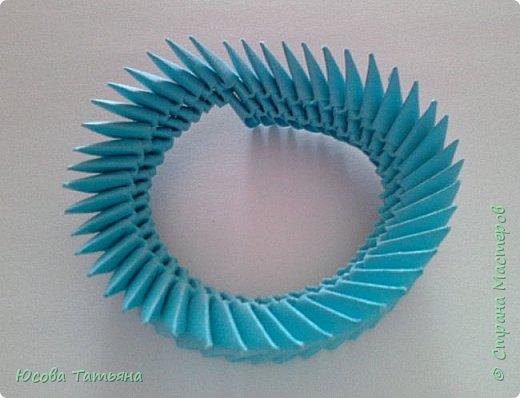 """Основу сервиза собирала по спирали (подробный способ сборки """"спираль"""" я описала в этом МК https://stranamasterov.ru/node/938113, а крышки, блюдце,  ручки и ложку - в обычной технике модульного оригами. фото 6"""