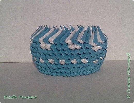 """Основу сервиза собирала по спирали (подробный способ сборки """"спираль"""" я описала в этом МК http://stranamasterov.ru/node/938113, а крышки, блюдце, ручки и ложку - в обычной технике модульного оригами. фото 12"""