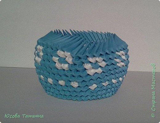 """Основу сервиза собирала по спирали (подробный способ сборки """"спираль"""" я описала в этом МК https://stranamasterov.ru/node/938113, а крышки, блюдце,  ручки и ложку - в обычной технике модульного оригами. фото 14"""