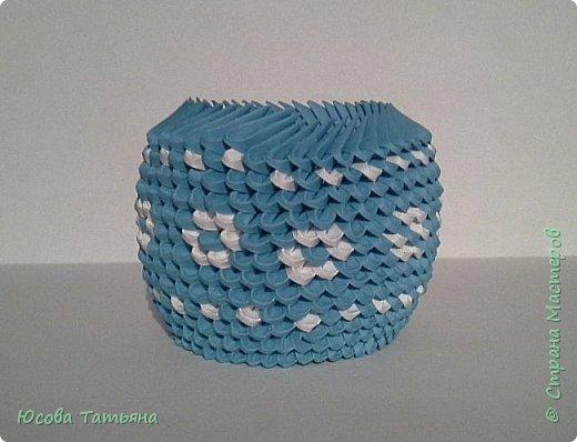 """Основу сервиза собирала по спирали (подробный способ сборки """"спираль"""" я описала в этом МК http://stranamasterov.ru/node/938113, а крышки, блюдце, ручки и ложку - в обычной технике модульного оригами. фото 17"""
