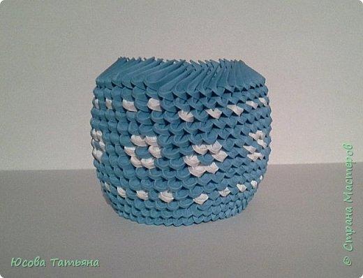 """Основу сервиза собирала по спирали (подробный способ сборки """"спираль"""" я описала в этом МК http://stranamasterov.ru/node/938113, а крышки, блюдце, ручки и ложку - в обычной технике модульного оригами. фото 18"""