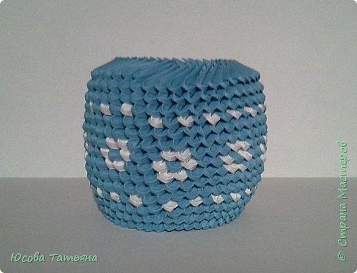 """Основу сервиза собирала по спирали (подробный способ сборки """"спираль"""" я описала в этом МК http://stranamasterov.ru/node/938113, а крышки, блюдце, ручки и ложку - в обычной технике модульного оригами. фото 19"""