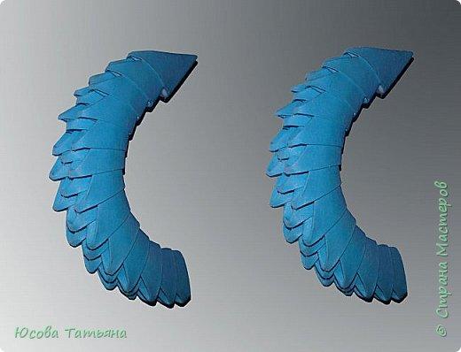 """Основу сервиза собирала по спирали (подробный способ сборки """"спираль"""" я описала в этом МК http://stranamasterov.ru/node/938113, а крышки, блюдце, ручки и ложку - в обычной технике модульного оригами. фото 20"""