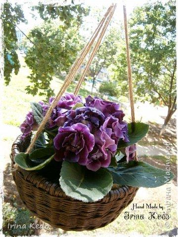 Мастер-класс Плетение Плетёное подвесное кашпо усовершенственное  Трубочки бумажные фото 16