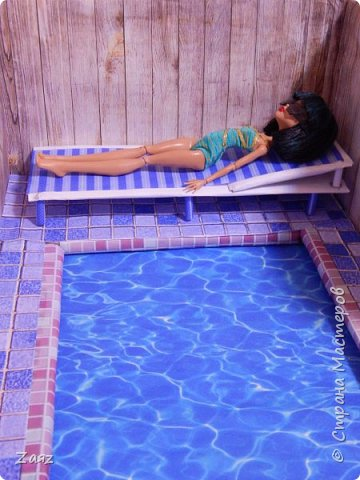 Как сделать бассейн для куклы своими руками 664