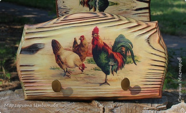 Декор предметов Мастер-класс Декупаж Ложный обжиг и браширование древесины Дерево Фанера фото 2