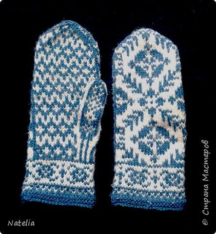Доброго всем времени суток. Представляю носочки и рукавички связанные в технике жаккард. Рукавички связаны спицами 2,25 нитки шерсть 300м/100г фото 25