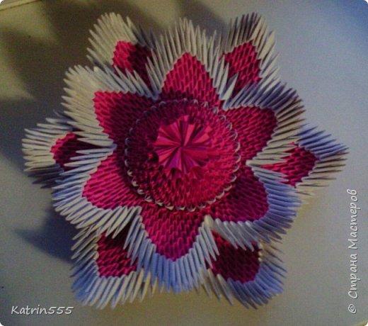 Модульное оригами Лотос