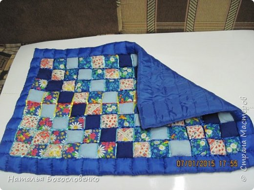 Детское одеяло из подушечек фото 2