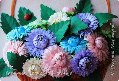 """Опять я к вам с цветами. Соскучилась за учебный год по любимому квиллингу и как говорится """"...и тут Остапа понесло...."""".  фото 2"""