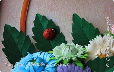 """Опять я к вам с цветами. Соскучилась за учебный год по любимому квиллингу и как говорится """"...и тут Остапа понесло...."""".  фото 3"""