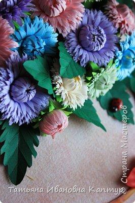 """Опять я к вам с цветами. Соскучилась за учебный год по любимому квиллингу и как говорится """"...и тут Остапа понесло...."""".  фото 6"""