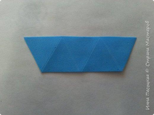 Лён - символ семьи, домашнего очага. Казалось бы обычный цветок, небольшого размера. Но когда он цветет, поле его голубых цветов называют «голубое небо». Мой МК посвящен изготовлению цветка льна из фоамирана.  фото 5