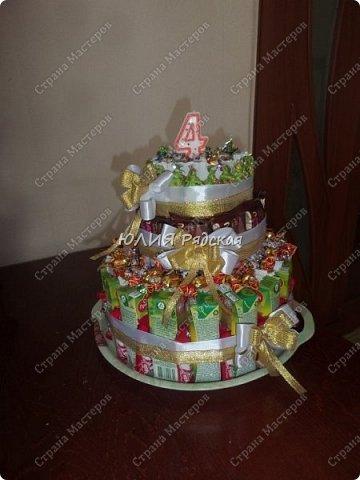 сыночку 4 года)0 вот и у нас тортик на день варенья готов))