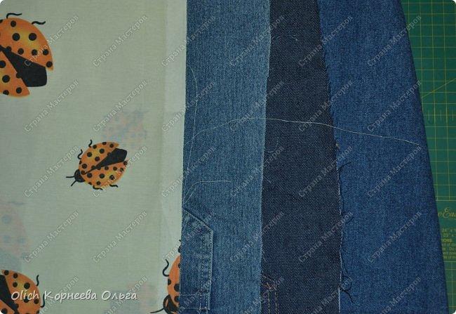Здравствуйте. Сегодня расскажу и покажу, как я шила этот забавный джинсовый рюкзак в виде совы. Джинсовая ткань прочная, универсальная, не маркая, а забавная сова не оставит равнодушным ни взрослого, ни ребенка. фото 5