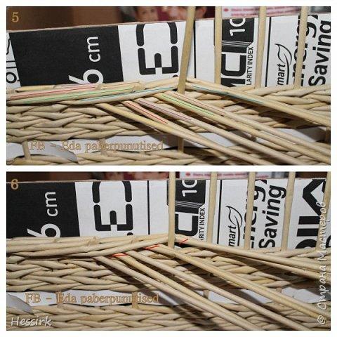 Мастер-класс Поделка изделие Плетение Красивая загибка мастер класс Трубочки бумажные фото 4