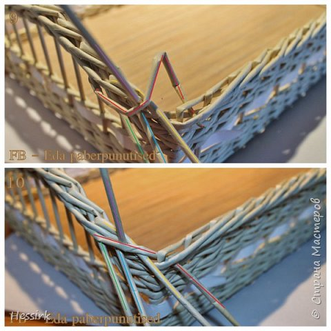 Мастер-класс Поделка изделие Плетение Красивая загибка мастер класс Трубочки бумажные фото 6