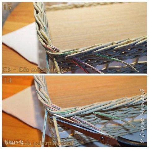 Мастер-класс Поделка изделие Плетение Красивая загибка мастер класс Трубочки бумажные фото 8