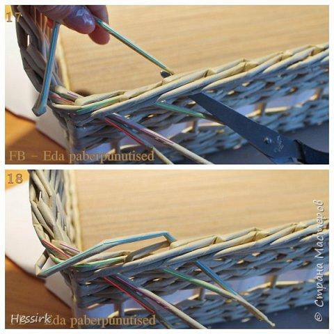 Мастер-класс Поделка изделие Плетение Красивая загибка мастер класс Трубочки бумажные фото 10