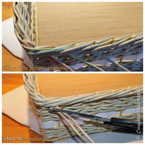 Мастер-класс Поделка изделие Плетение Красивая загибка мастер класс Трубочки бумажные фото 11