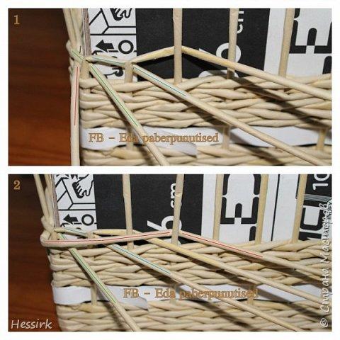 Мастер-класс Поделка изделие Плетение Красивая загибка мастер класс Трубочки бумажные фото 2