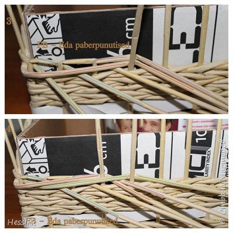 Мастер-класс Поделка изделие Плетение Красивая загибка мастер класс Трубочки бумажные фото 3