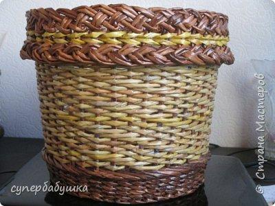 Мастер-класс Поделка изделие Плетение Двойная загибка Трубочки бумажные фото 2
