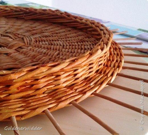 схемы плетения из газетных трубочек фото