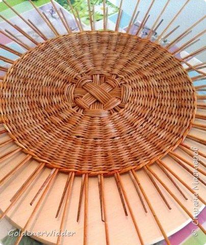 Мастер-класс Поделка изделие Плетение Внутренний бортик у крышки Трубочки бумажные фото 3