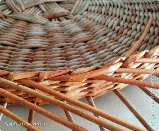 Мастер-класс Поделка изделие Плетение Внутренний бортик у крышки Трубочки бумажные фото 7