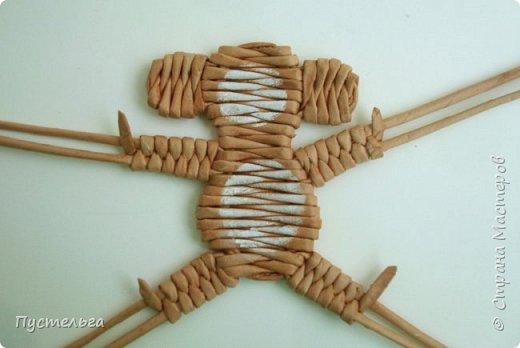 Мастер-класс Поделка изделие Плетение Обезьянки-неунывайки к Новому году Трубочки бумажные фото 14