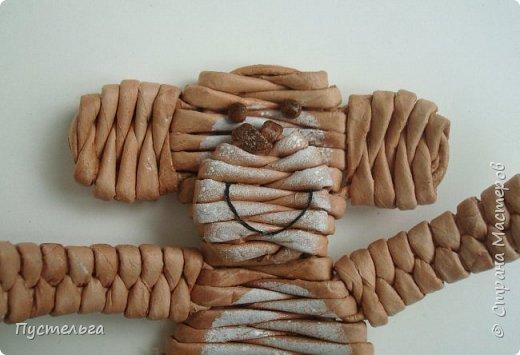Мастер-класс Поделка изделие Плетение Обезьянки-неунывайки к Новому году Трубочки бумажные фото 15