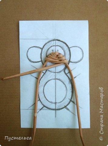 Мастер-класс Поделка изделие Плетение Обезьянки-неунывайки к Новому году Трубочки бумажные фото 10