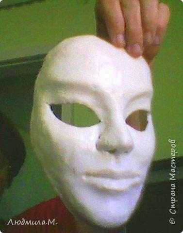 """Уважаемые жители """"Страны Мастеров""""! Свой первый мастер-класс я решила сделать не о куклах, а о масках. Потому что именно с масок начиналось моё увлечение лепкой. И ещё потому, что маска крупнее, и её делать проще, чем куклу, а технология одна и та же. фото 10"""